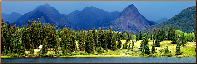 Molas Lake Campground Park :: Town Silverton Colorado