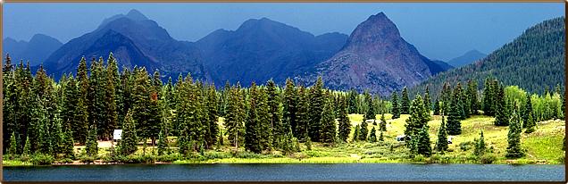 Molas Lake Campground Park :: Town Silverton Colorado